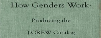 How Genders Work: Producing the J.CREW Catalog