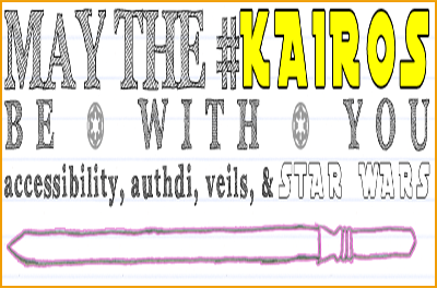 May the #kairos be with you
